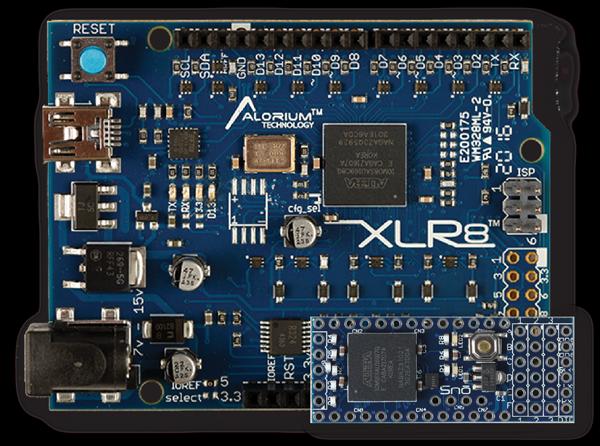 XLR8 and Snō | Arduino Compatible FPGA Development Boards