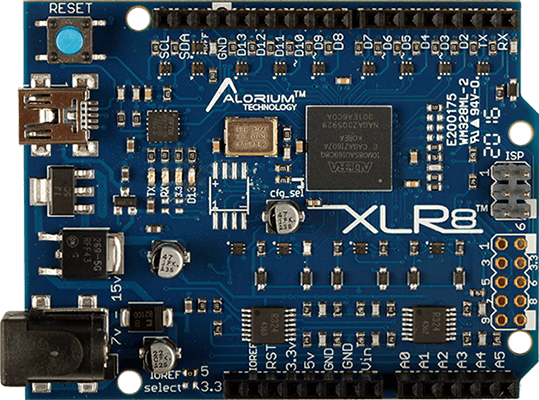 XLR8 | Arduino Compatible Intel MAX 10 FPGA Development Board
