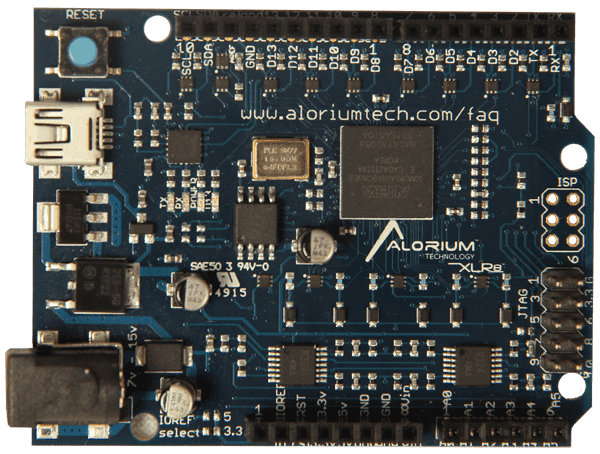 XLR8 Rev 2 | Arduino Compatible Intel MAX 10 FPGA Development Board
