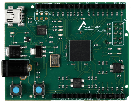 XLR8 Rev 1 | Arduino Compatible Intel MAX 10 FPGA Development Board
