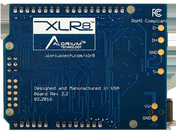Xlr arduino compatible fpga development board
