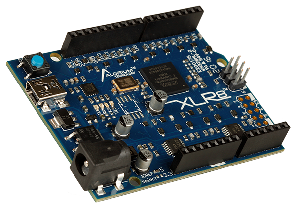 XLR8: Arduino Compatible Altera MAX 10 FPGA Development Board