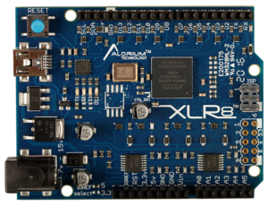 XLR8 Top: Arduino-Compatible Altera Max 10 FPGA Development Board