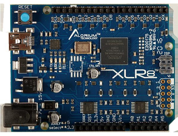 XLR8: Intel MAX 10 FPGA Development Board - Alorium Technology