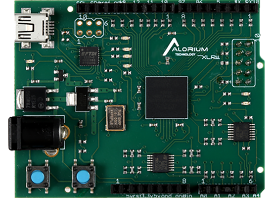 XLR8 Rev1: Arduino-Compatible Altera MAX 10 FPGA Development Board