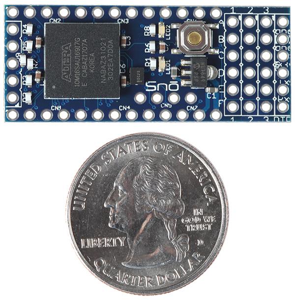 Snō   Small FPGA Development Board