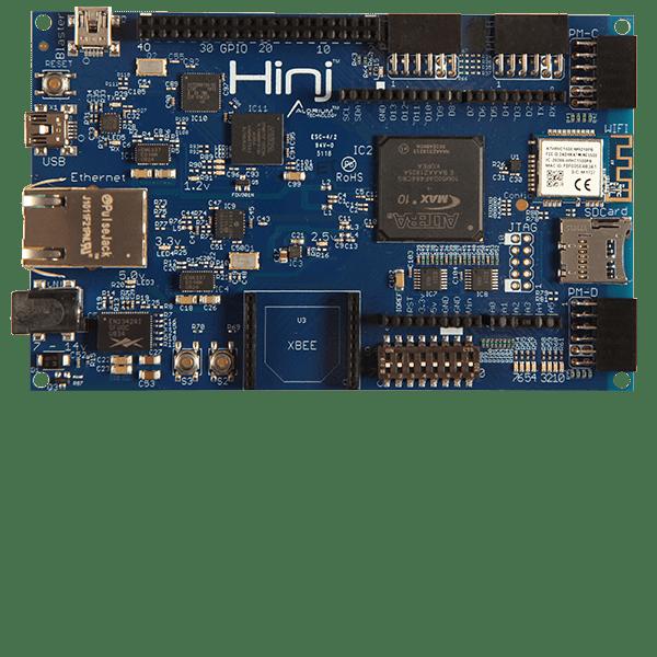 Hinj | IoT Sensor Hub and FPGA Development Board