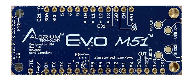 Snō Bottom | Small FPGA Module | Arduino Compatible